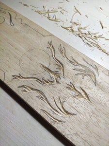 Drawing and Cutting the Inlay Design