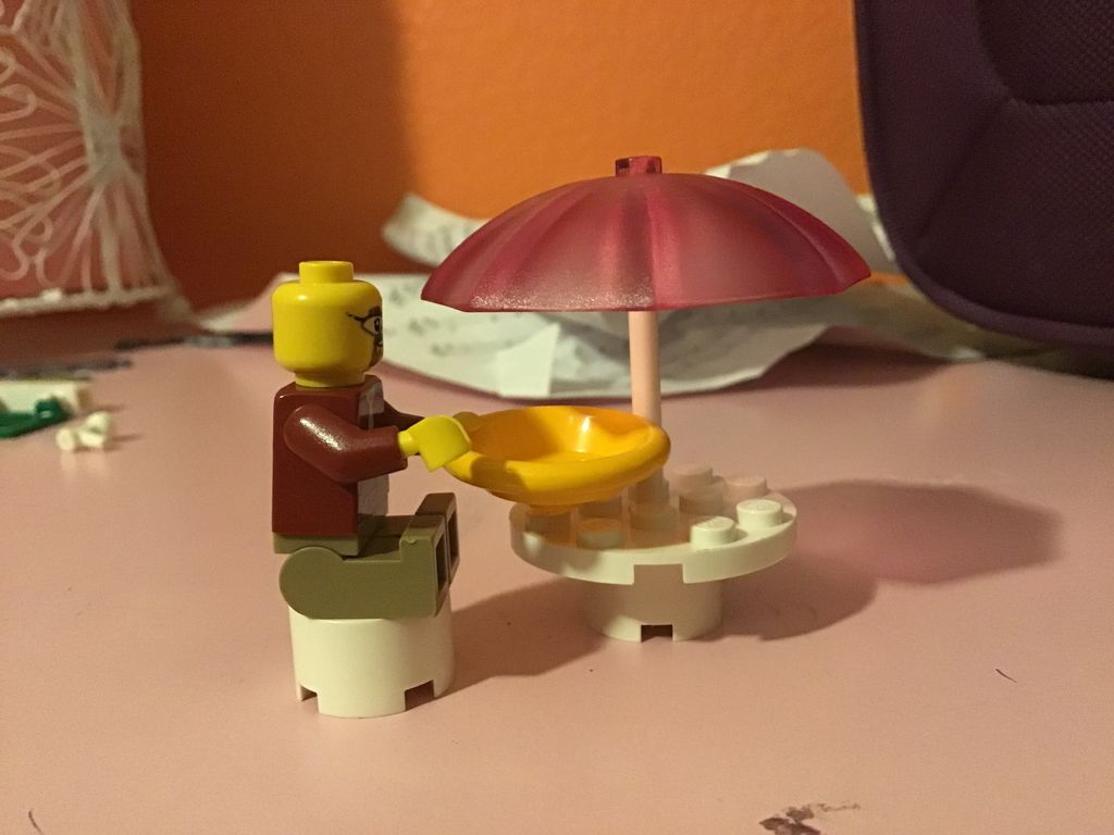 Picture of LEGO Outdoor Restaurant Table