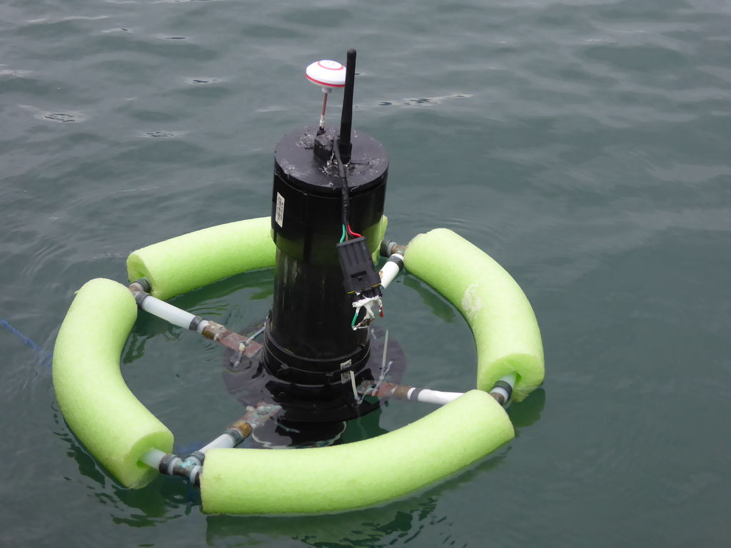 Picture of CrabCam Part Four:  the Buoy