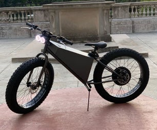 快速3000W电动自行车