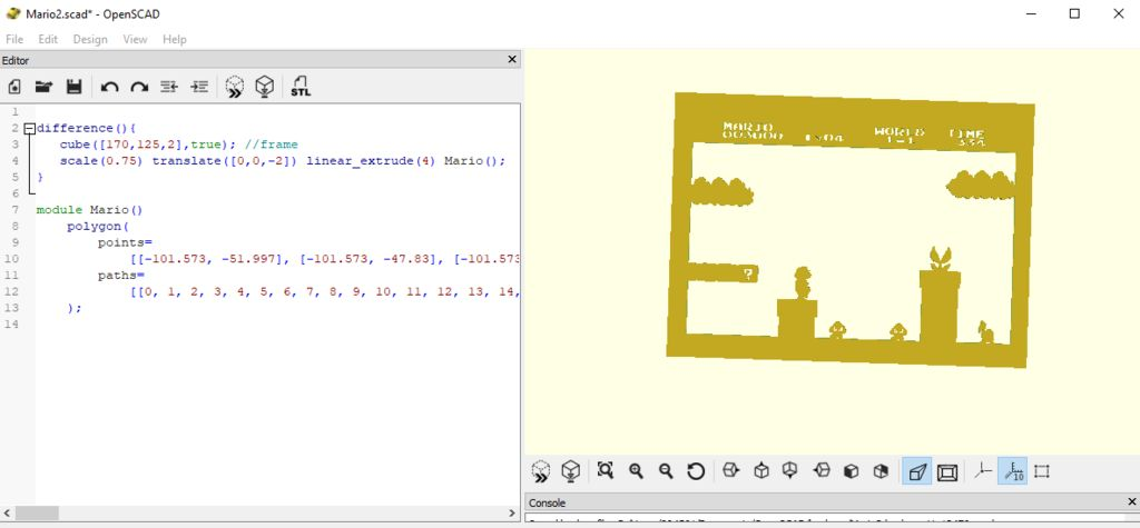 Picture of Process in OpenSCAD