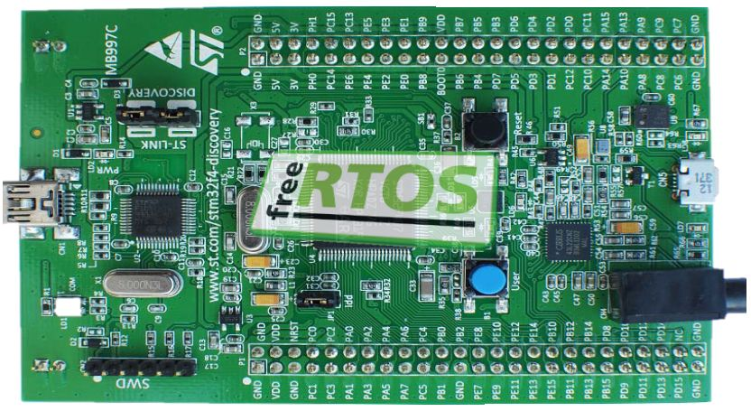 Picture of Setting FreeRTOS from Scratch on STM32F407 Discovery Kit