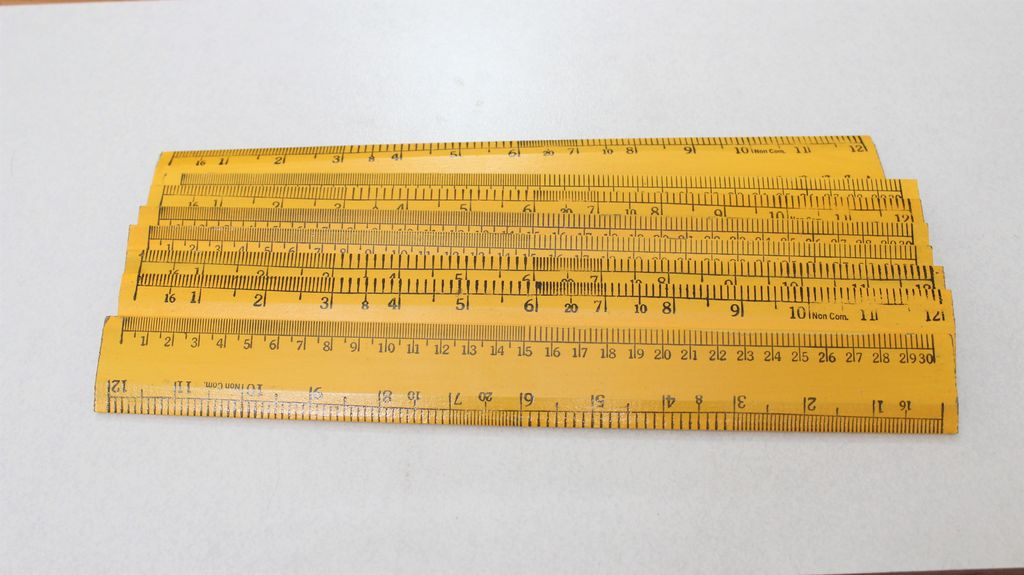 Picture of Main Wooden Rulers