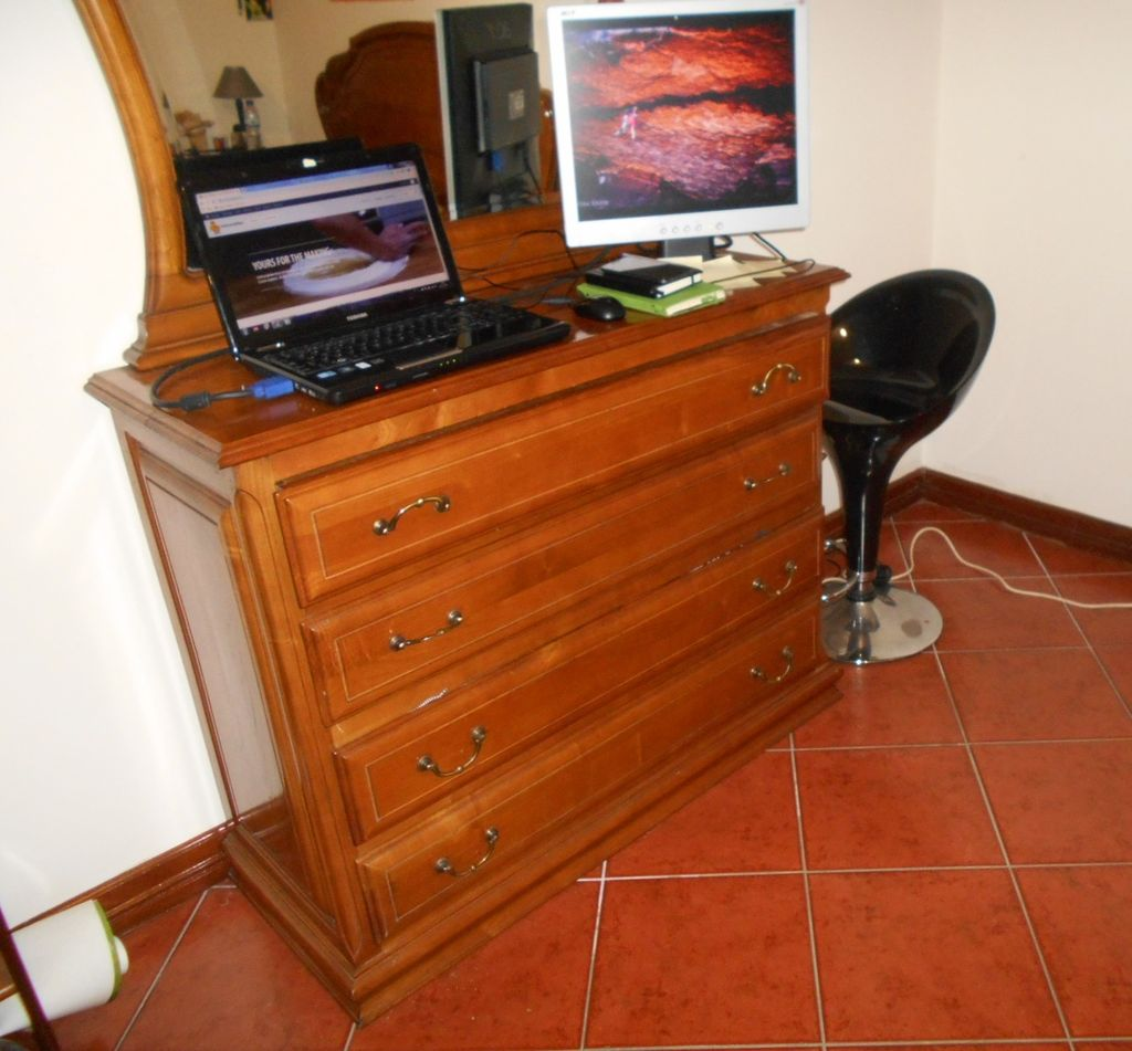 Picture of Make a Desk Out of Your Dresser Drawer