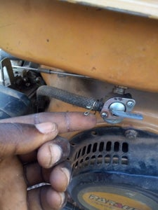 Replacing the Fuel Tap