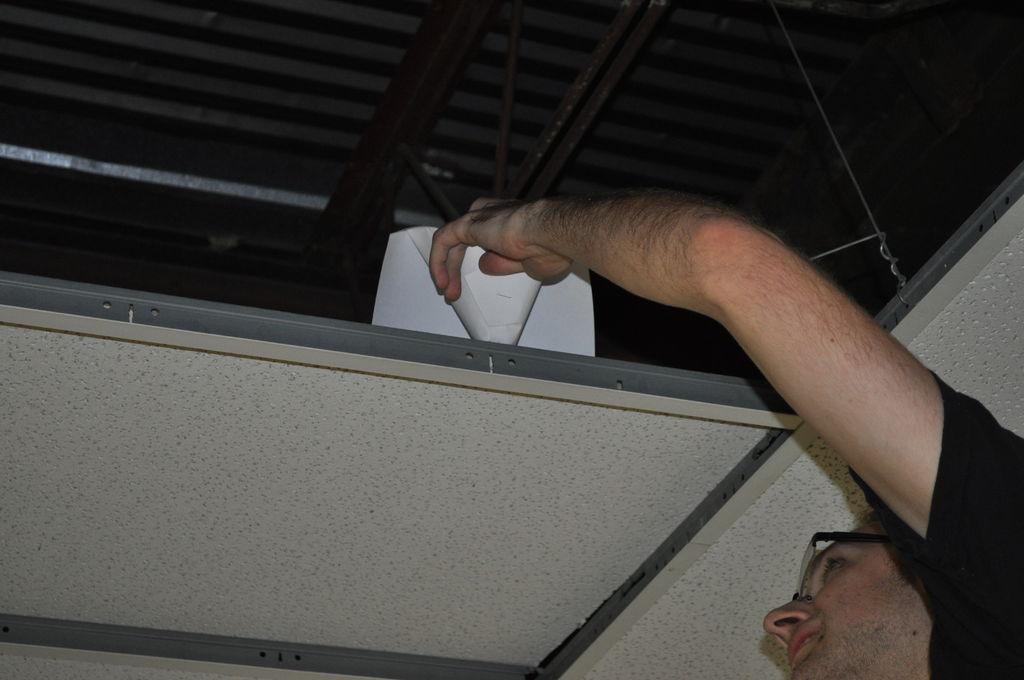 Picture of Position the Confetti Funnel