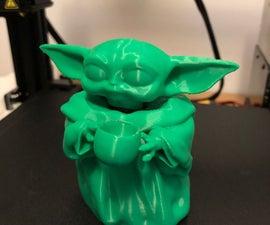 Baby Yoda 3d Print Moveable Head