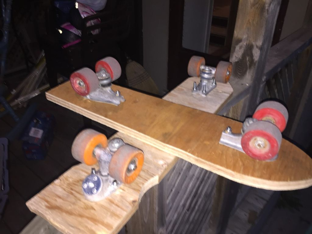 Picture of Fastening Trucks to Deck