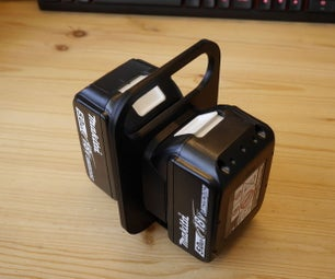 Makita Battery Storage and Carrier
