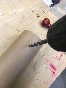 Preparing the Cardboard Tube