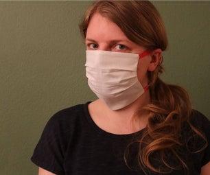 DIY口罩,支持医护人员