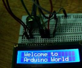 Arduino LCD 16x2 Tutorial | Interfacing 1602 LCD Display With Arduino Uno