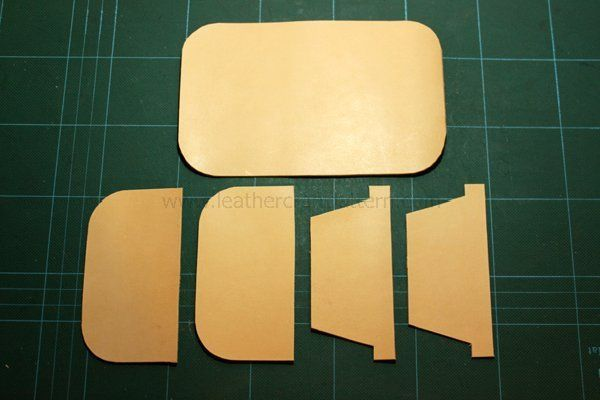 Picture of Cut All Pieces Off. Here Because We Add Some Card Slots and a Photo Slot. This Is DIY, Just Do What You Want, There Is No Rule.