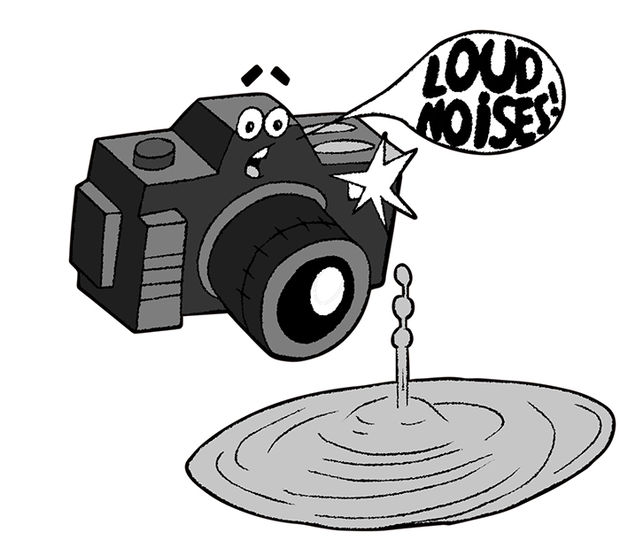 Sound Activated Camera Trigger For High Speed Photography