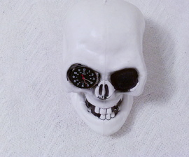 How to make a skull clock