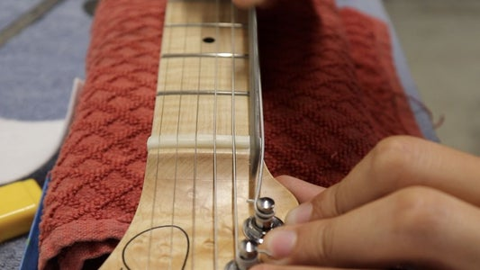 Fret Work and Tune-Up (part 1)