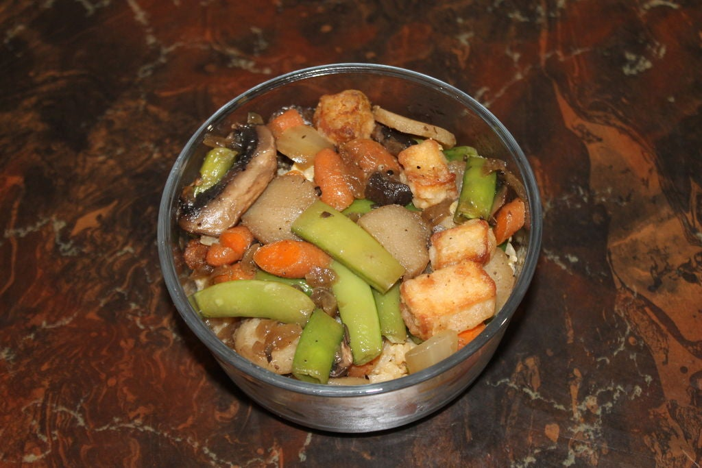 Picture of Stir Fry Veggies, Tofu, and Rice