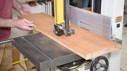 Cut Boards to Length & Width