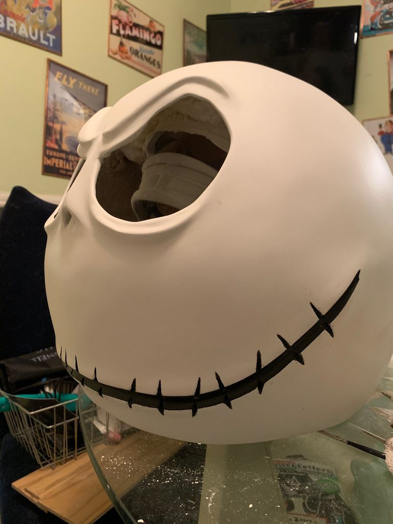 Picture of Painting of the Mouth and Stitches