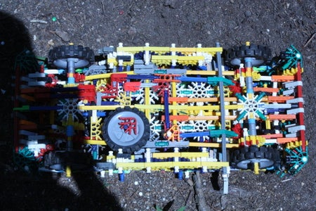 Knex Rally Car 2 Updated
