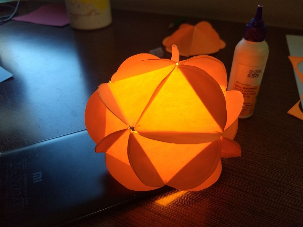 Picture of Mathematically Perfect Spherical Lantern