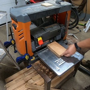 Cutting the Cherry Handle Piece