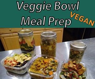 Easy Veggie Bowl Meal Prep - Vegan