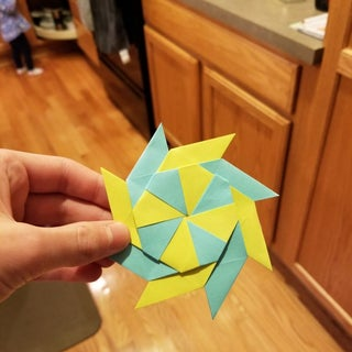 How to Fold Paper Ninja Stars - Frugal Fun For Boys and Girls | 320x320