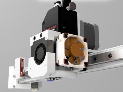 Assembling Extruder and Hotend