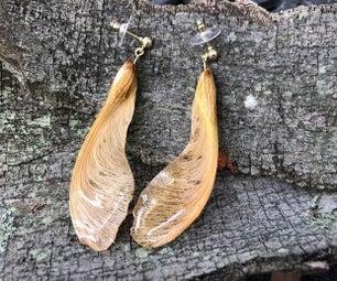 枫树翅果首饰