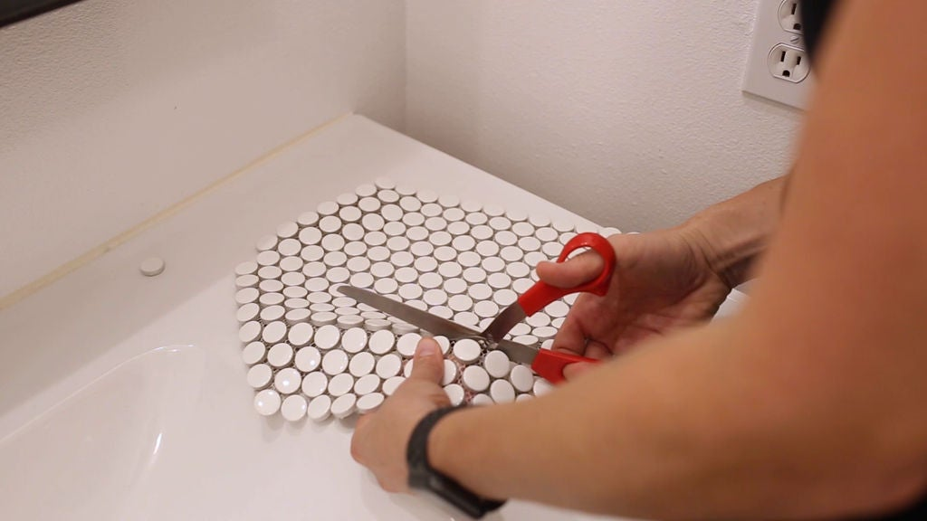 Picture of Cut the Tile to Fit