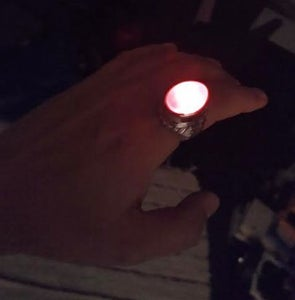 DIY Wearable Ring LED