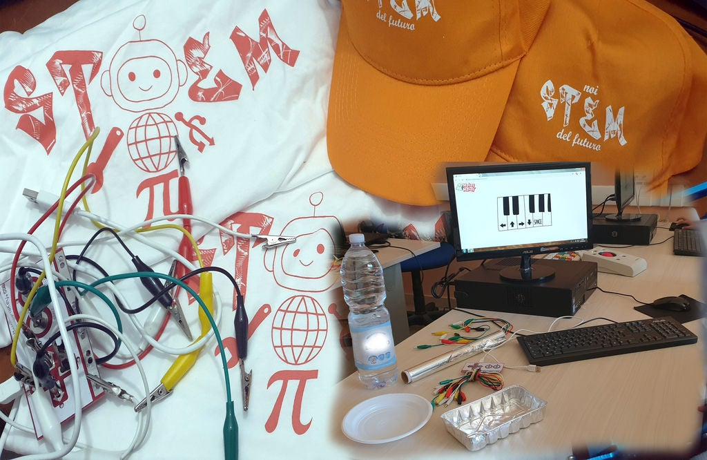 Picture of Makey Makey and the Musical Water