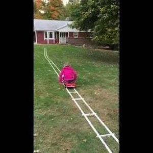DIY Portable Roller Coaster - Easily Constructed-Assembles in Minutes