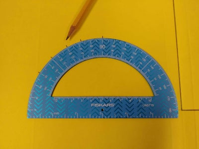 Measuring and Marking the Angles