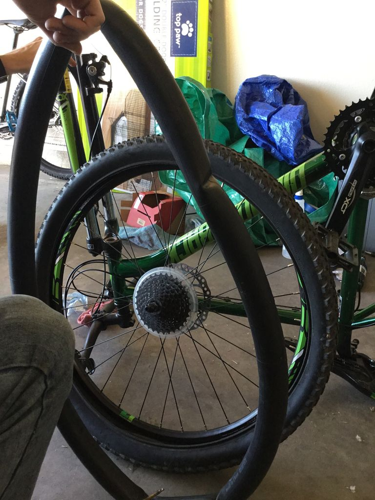 Picture of Removing Inner Tube