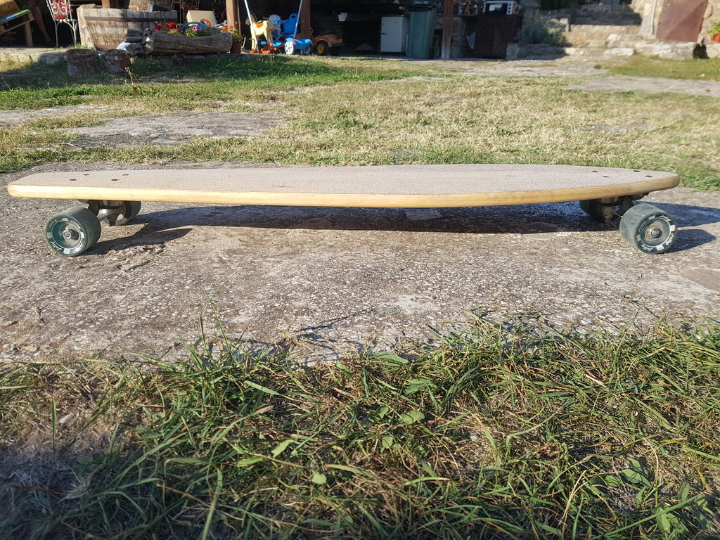 Picture of Longboard From Scrap Wood