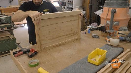 Assemble Five Panel Sides