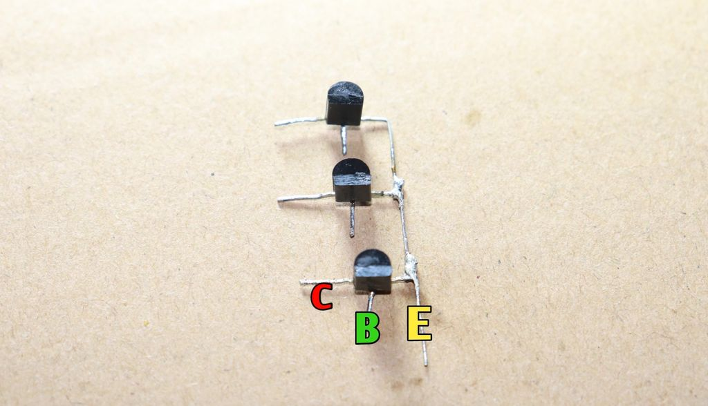 Picture of Connect Emmiter of Transistors