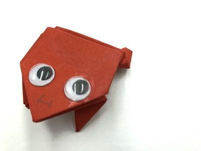 Rana De Papel Origami - Origami Frog