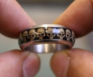 骷髅戒指DIY