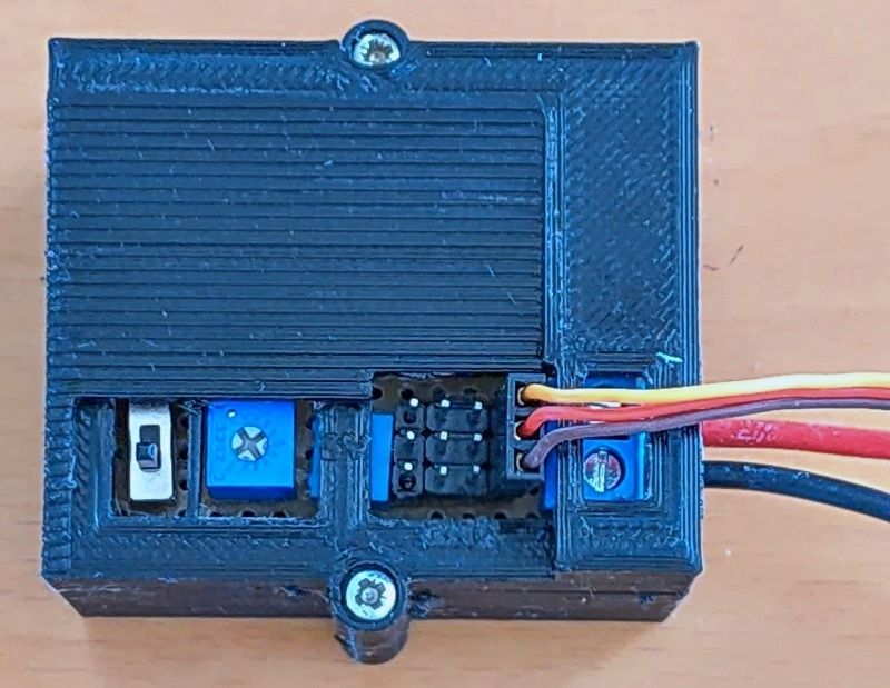 Picture of Two-Mode Servo Tester
