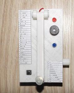 Mini Homemade Telegraph