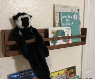 Kid's Nursery Book Shelves