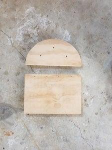 Shelf for the Steel Tube