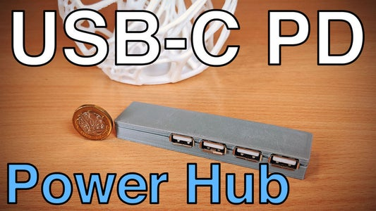 USB-C PD Power Hub for DIY Projects