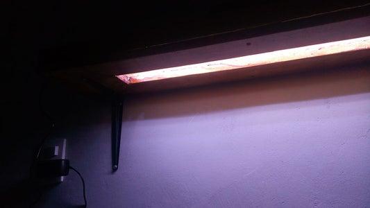 LED Light Shelf