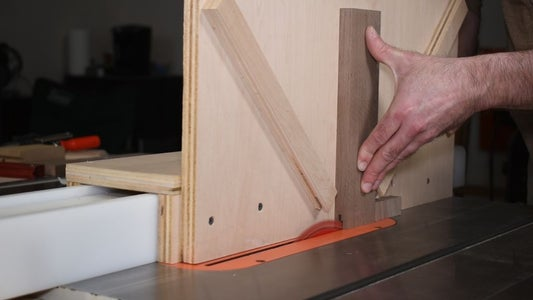 Cut a Center Groove in Board 1