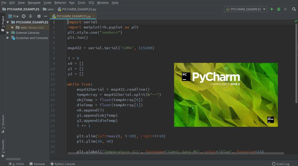 Picture of PyCharm
