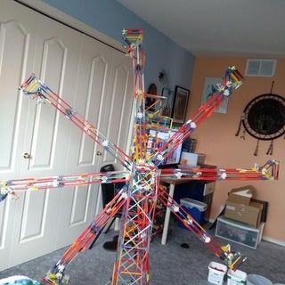 Separating Arm Lift, a Knex Ball Machine Lift
